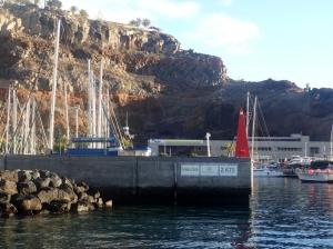 Główki portu San Sebastian na wyspie La Gomera   Charter.pl foto: Kasia Kowalska