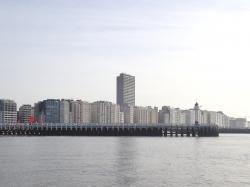 Wejście do portu Oostende - charter.pl foto: Kasia Koj
