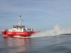 Bardzo duży ruch statków jest w porcie Ostenda - charter.pl foto: Kasia Koj
