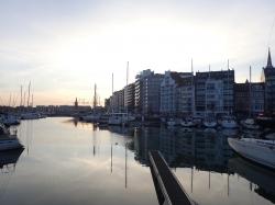 Wieczorny spacer po Ostendzie foto: Kasia Koj