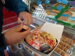"""Wspaniałe """"sea-food fast-food"""" - Charter.pl foto: Kasia Koj"""