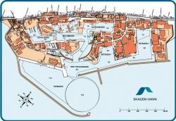 Plan portu - widok na dziś foto: www.skagenhavn.dk