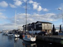 Port jachtowy w Skagen foto: Kasia Koj