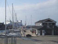 Port Vestero Havn na wyspie Laeso | Charter.pl foto: Kasia Koj