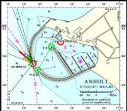 Plan portu Anholt foto: www.marinaguide.dk