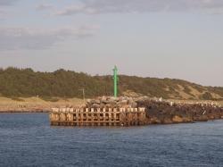 Zielona główka też prezentuje się ładnie - Wyspa Anholt - Charter.pl foto: Katarzyna Kowalska