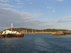 Jeszcze fotka na obie główki portu - Charter.pl foto: Katarzyna Kowalska