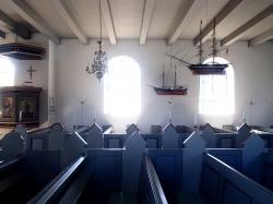 Kościół z 1818 roku - wyspa Anholt foto: Katarzyna Kowalska