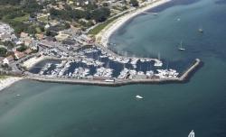 Widok na port foto: www.visitsamsoe.dk