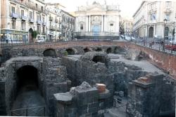 Rzymskiego amfiteatr w Katanii | Charter.pl foto: Kasia Koj
