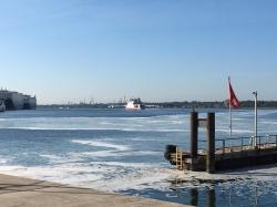 W marinie jest przystań promowa | Charter.pl foto: Katarzyna Kowalska