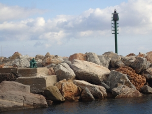 Przy ładnej, słonecznej pogodzie kamienie wyglądają cudownie. Gorzej to wygląda jak pogoda się psuje foto: Kasia Koj