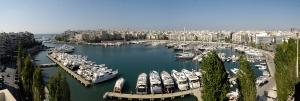 Piękny, panoramiczny widok na marinę foto: www.d-marin.com