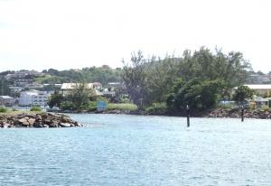 Wejście do mariny Rodney Bay jest wąskie i słabo oznakowane foto: Kasia Koj