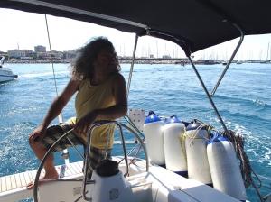 Nie ma co trzeba wypływać w morze i uciekać od tłumów foto: Kasia Koj