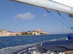 Portoferraio na wyspie Elba   Charter.pl foto: Piotr Kowalski