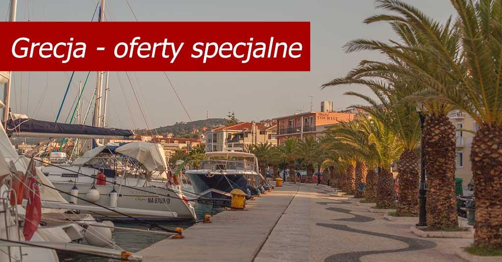 Grecja - oferty specjalne 2020
