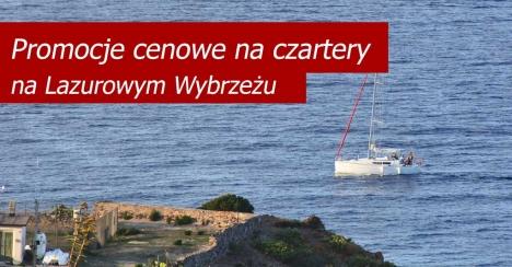 Oferta specjalna na czartery jachtów - Lazurowe Wybrzeże