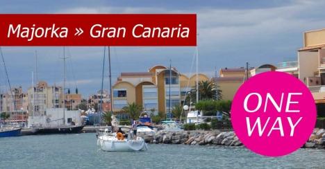 Jesienne czartery Majorka - Gran Canaria