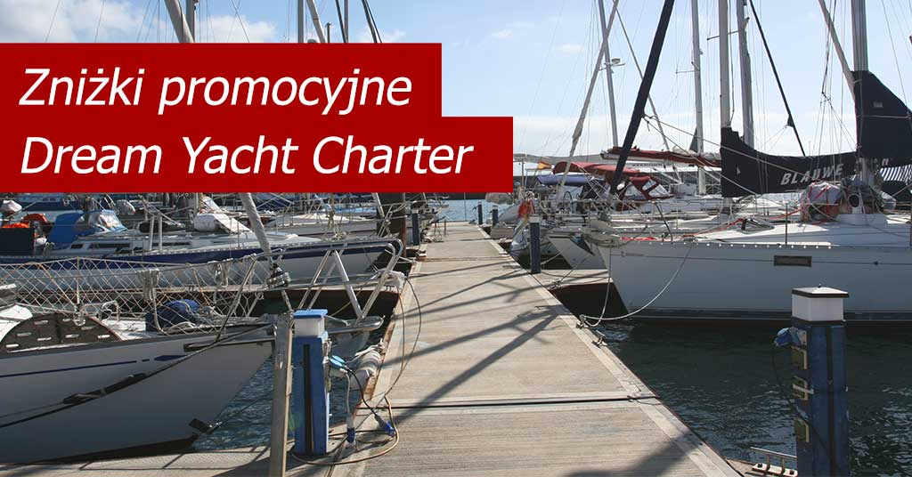 Dream Yacht Charter - oferty promocyjne na Oceanie Indyjskim