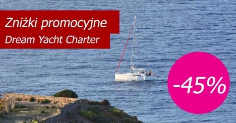 Dream Yacht Charter - zniżki promocyjne 2020