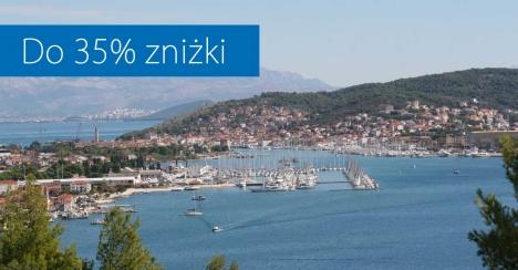Do 35% zniżki i korzystne warunki rezerwacji  czarterów w Chorwacji
