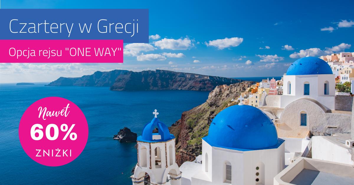 Czarter ONE WAY w Grecji