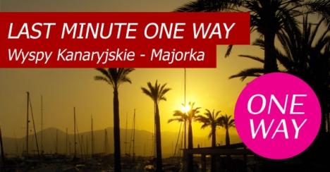 ONE WAY Teneryfa - Majorka za 1000 €!