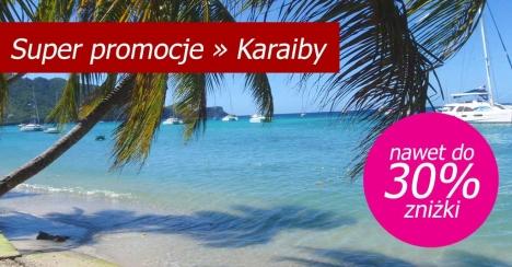Super promocje na Karaibach