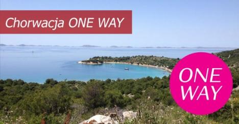 Czarter ONE WAY w Chorwacji