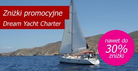 Dream Yacht Charter - promocyjne ceny czarterów
