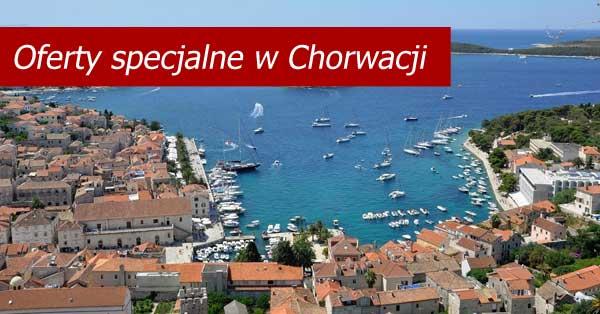 Chorwacja - promocyjne oferty czarterów wakacje 2020
