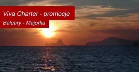Viva Charter -  majowe promocje czarterów na Majorce