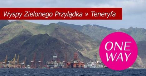 ONE WAY Cabo Verde - Teneryfa