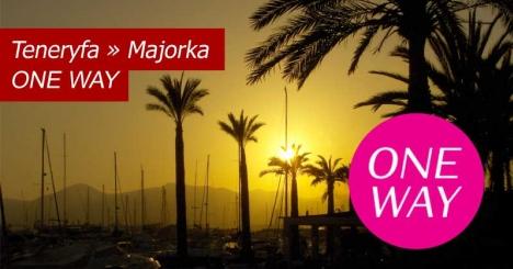 Wiosnne oferty ONE WAY Teneryfa - Majorka