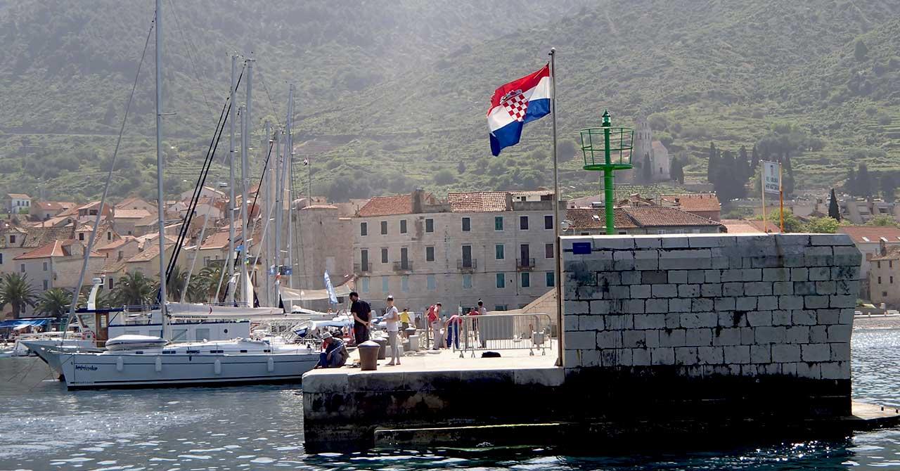 Rodziny, wakacyjny rejs w Chorwacji