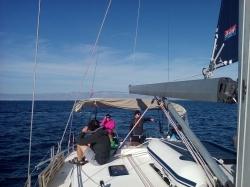 Szkolenie na stopień jachtowego sternika morskiego w Chorwacji - Charter.pl foto: Urszula Moczulska