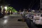Port na Kefaloni nocą foto: Jan Dziędziel