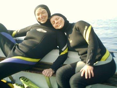 Na łodzi foto: Ewa