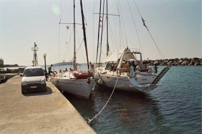 Nasz jacht ten większy!!! foto: Peter