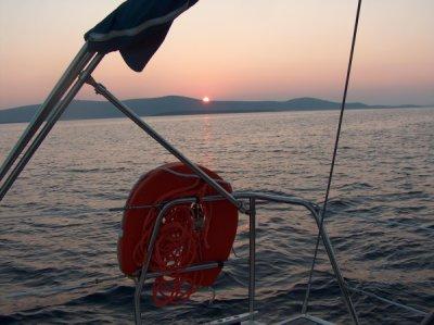 Zachód słońca foto: Mariusz