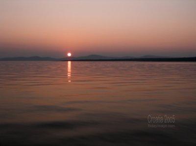 Zachód słońca foto: Piotr
