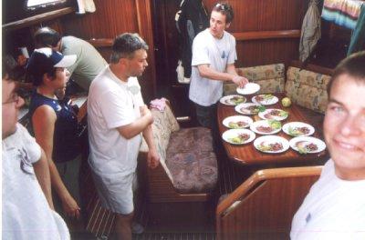 Przygotowanie posiłku foto: Ania