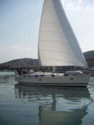 Zaprzyjaźniony jacht foto: Sławek