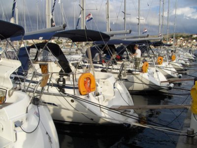 Nasze jachty już gotowe foto: Kasia