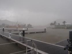deszczowa St. Lucia  foto: Peter