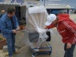 Pakowanie rzeczy na jacht foto: Kasia
