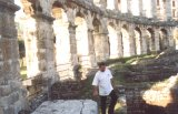 Kapitan Mislava na spacerze foto: Ania