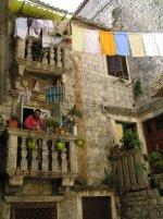 zaułek w Trogirze foto: Iwonka