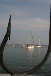 Nasze jachty na kotwicy foto: Asia